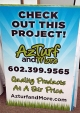 AZ Turf Yard SIgn