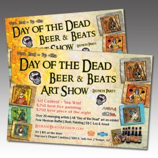 Day of the Dead Event Flyer